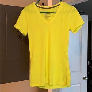 Neon yellow/green nike dri-fit shirt